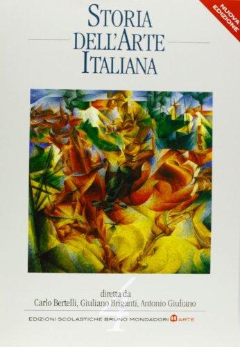 9788842446842: Storia dell'arte italiana. Per le Scuole superiori: 4