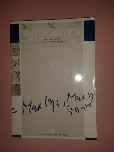9788842448518: Mathematica. Per il triennio: 3