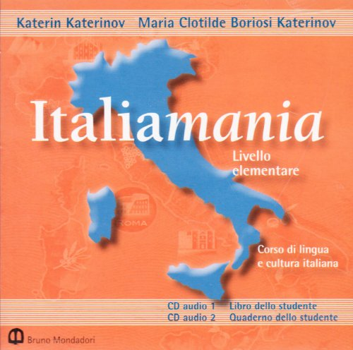 Italiamania: Audio CD (2) Level 1 (Mixed: Katerin Katerinov, M.