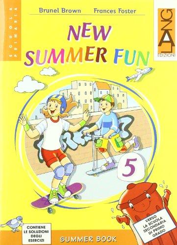 9788842488538: New summer fun. Per la Scuola elementare. Con CD Audio (Vol. 5)