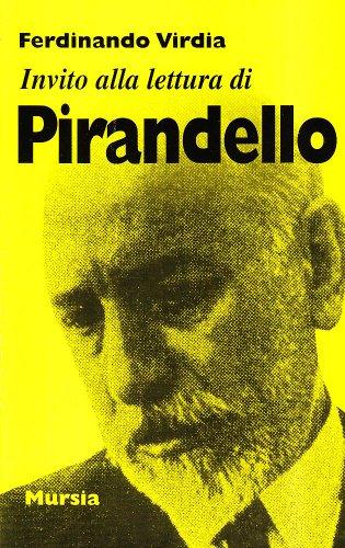 Invito alla lettura di LUIGI PIRANDELLO: VIRDIA, FERDINANDO