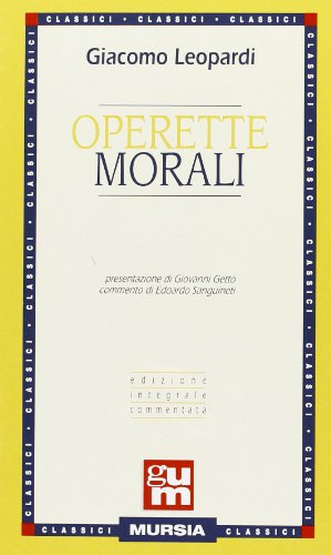 9788842504221: Operette morali