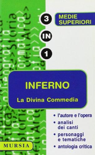 9788842510062: La Divina Commedia. Inferno. L'autore e l'opera, analisi dei canti, personaggi e tematiche, antologia critica.