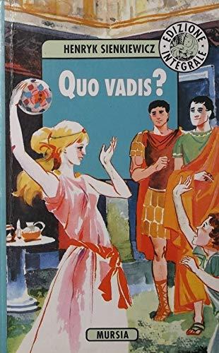 9788842518693: Quo vadis?