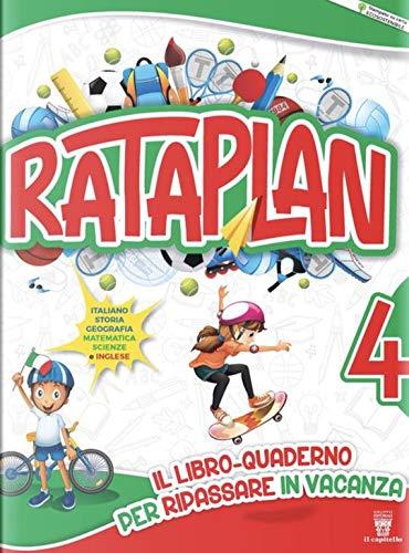 9788842617549: Rataplan! Il libro-quaderno per ripassare in vacanza: 4