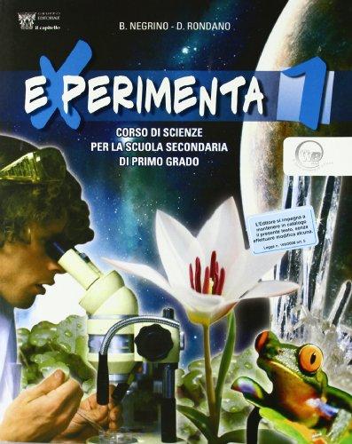 9788842645016: Experimenta. Corso di scienze. Per la Scuola media: 1