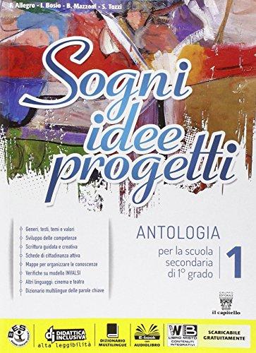 9788842652311: Sogni, idee, progetti. Mito-Competenze. Per la Scuola media. Con e-book. Con espansione online: 1
