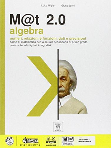 9788842653134: M@t 2.0 plus. Per la Scuola media. Con DVD-ROM. Con e-book. Con espansione online (Vol. 3)
