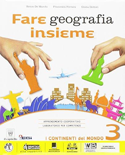 9788842653639: Fare geografia insieme. Plus. Atlante. Per la Scuola media. Con e-book. Con espansione online (Vol. 3)