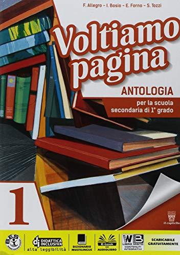 9788842653943: Voltiamo pagina. Mito epica-Competenze 1-Imparare a riassumere 1-2. Per la 1ª classe della Scuola media. Con ebook