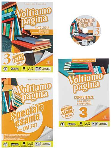 9788842653967: Voltiamo pagina. Con Competenze ed Esame. Per la Scuola media. Con ebook. Con espansione online (Vol. 3)