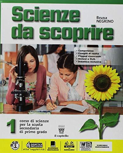 9788842654032: Scienze da scoprire. Con Realtà. Per la Scuola media. Con ebook. Con espansione online (Vol. 1)