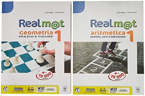 9788842654605: Realm@t. Aritmetica-Geometria. Per la Scuola media. Con e-book. Con espansione online. Con Libro: Tavole: 1