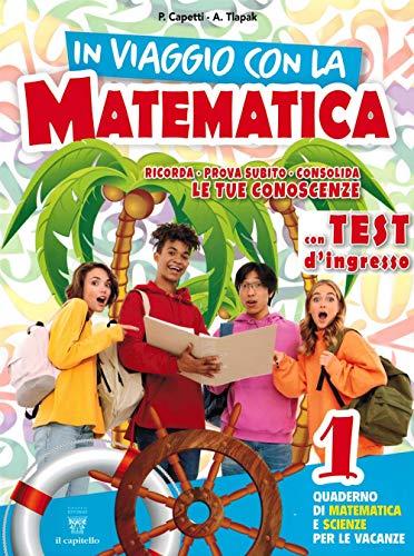9788842654865: In viaggio con la matematica. Per la Scuola media: 1