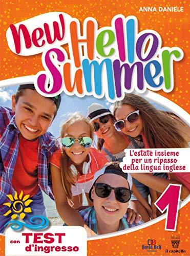 9788842654964: New hello summer! L'estate insieme per un ripasso della lingua inglese: 1