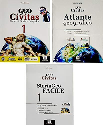 9788842675648: Geocivitas. Con Storiageo facile e Atlante. Per il biennio delle Scuole superiori. Con ebook. Con espansione online: 1