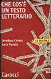 9788843019977: Che cos'è un testo letterario