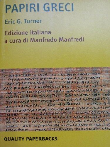 9788843021659: Papiri greci