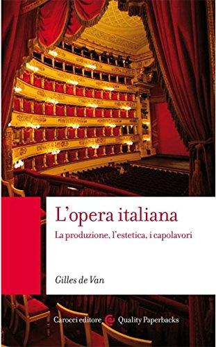 9788843023516: L'opera italiana. La produzione, l'estetica, i capolavori