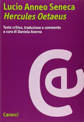 9788843023769: Lucio Anneo Seneca. Hercules Oetaeus