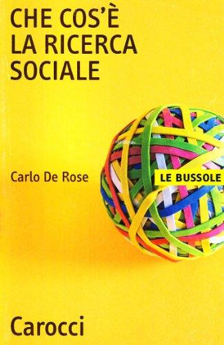9788843026807: Che cos'è la ricerca sociale