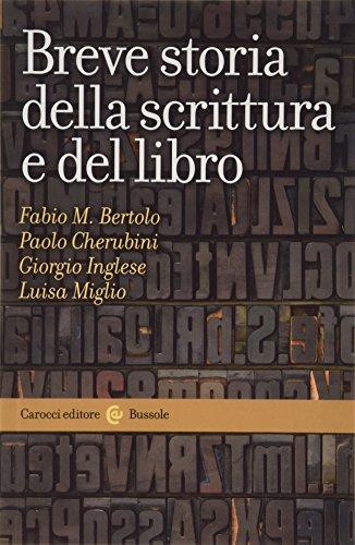 9788843030965: Breve storia della scrittura e del libro
