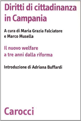 9788843034376: Diritti di cittadinanza in Campania