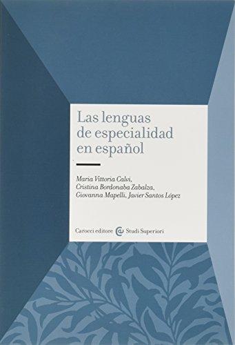 9788843049707: Las lenguas de especialidad en español