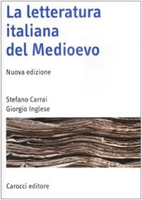 9788843050642: La letteratura italiana del Medioevo