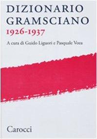 9788843051434: Dizionario gramsciano 1926-1937 (Fuori collana)