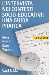 9788843057214: L'intervista nei contesti socio-educativi: una guida pratica