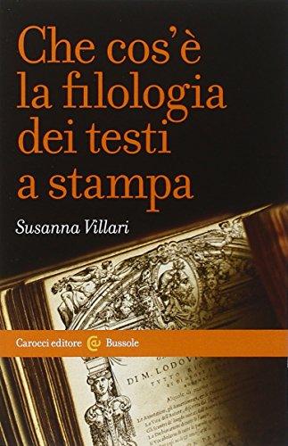 9788843074181: Che cos'è la filologia dei testi a stampa