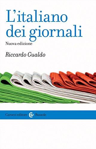 9788843089499: L'italiano dei giornali