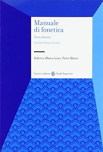 9788843094110: Manuale di fonetica