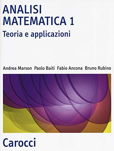 9788843099559: Analisi matematica 1. Teoria e applicazioni