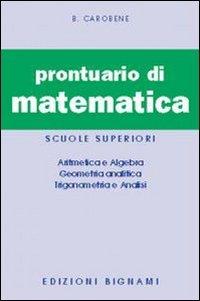 9788843315017: Prontuario di matematica
