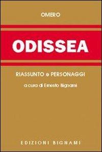 9788843321544: Odissea. Riassunto e personaggi dell'opera