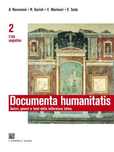 Documenta Humanitatis 2 - L'età Augustea