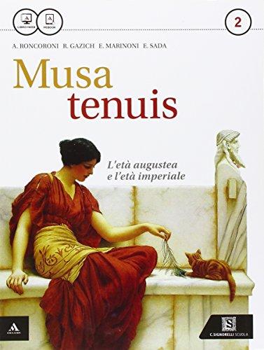 9788843417681: Musa tenuis. Per i Licei. Con e-book. Con espansione online: 2