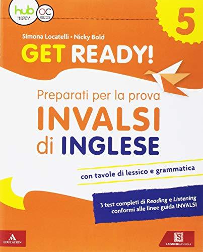 9788843419364: Get ready! Preaparati per la prova INVALSI di inglese. Per la 5ª classe elementare. Con espansione online [Lingua inglese]
