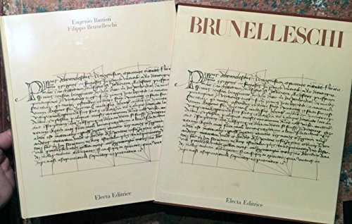 9788843506118: Filippo Brunelleschi (Italian Edition)