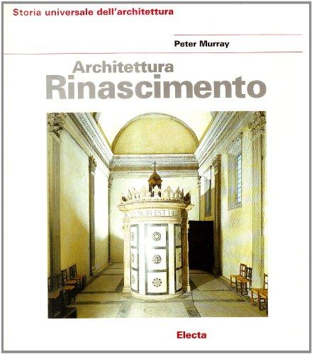 Architettura del Rinascimento.: Murray,Peter.