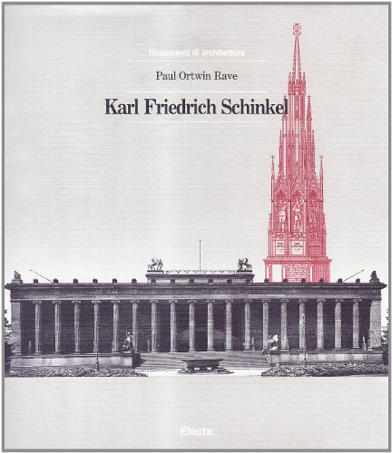 9788843527915: Karl Friedrich Schinkel (Italian Edition)