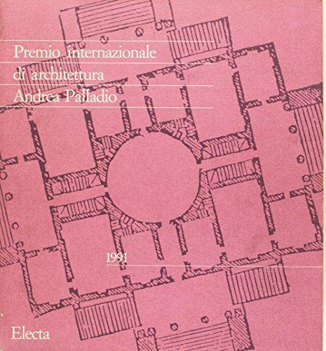 Premio internazionale di architettura Andrea Palladio 1988.