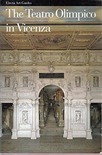 9788843554089: The Teatro Olimpico in Vicenza (Guide artistiche)