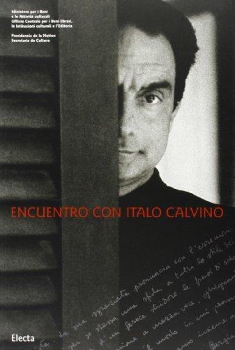 Encuentro con Italo Calvino.: Catalogo della Mostra:
