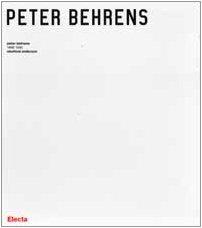 9788843578092: Peter Behrens. 1868-1940