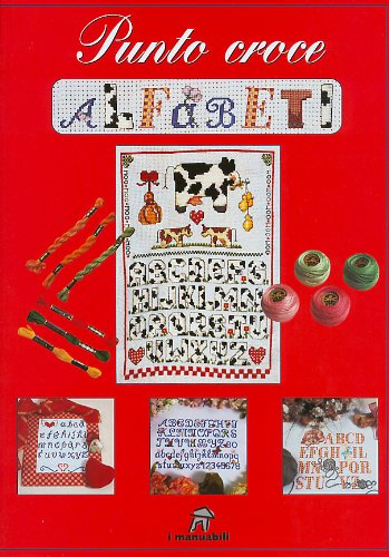 9788844025564: Punto croce alfabeti