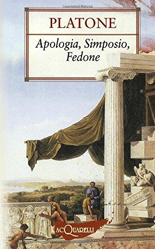 9788844031381: Apologia-Simposio-Fedone