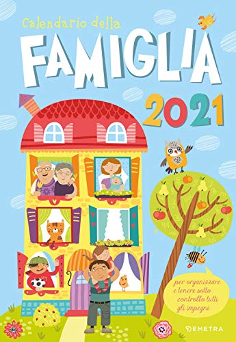 9788844058401: Calendario della famiglia 2021